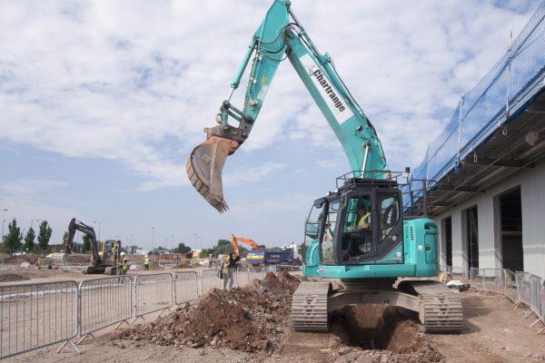 Excavation at Food Hub, Liverpool