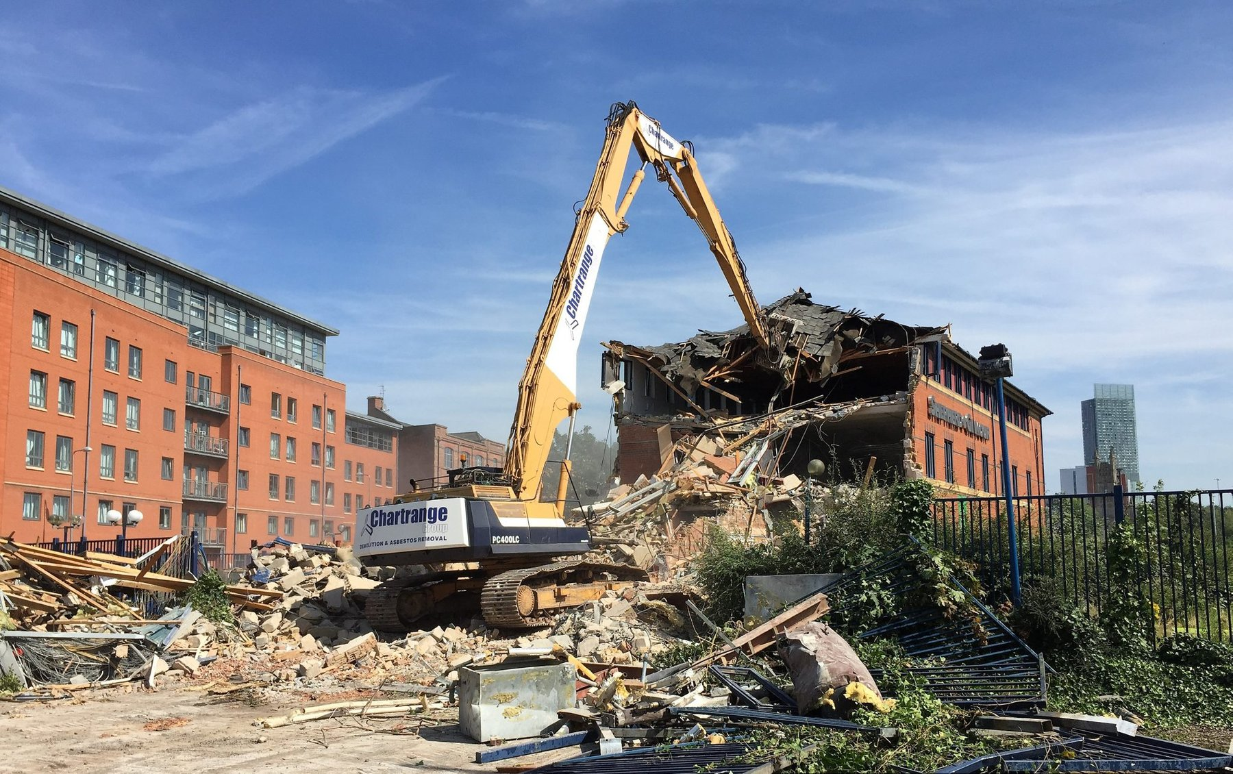Demolition photo Chartrange