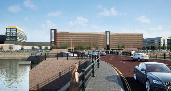 Chartrange wins Remediation & Earthworks at new Kings Dock car park in Liverpool