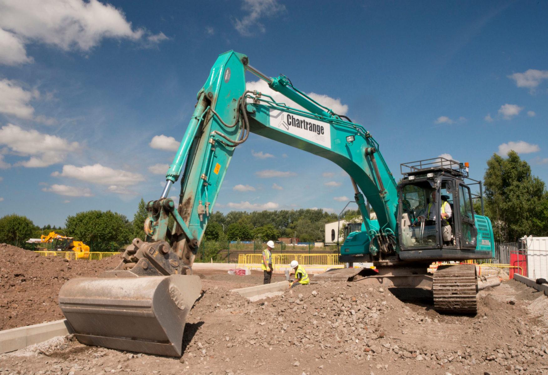 Chartrange Excavator