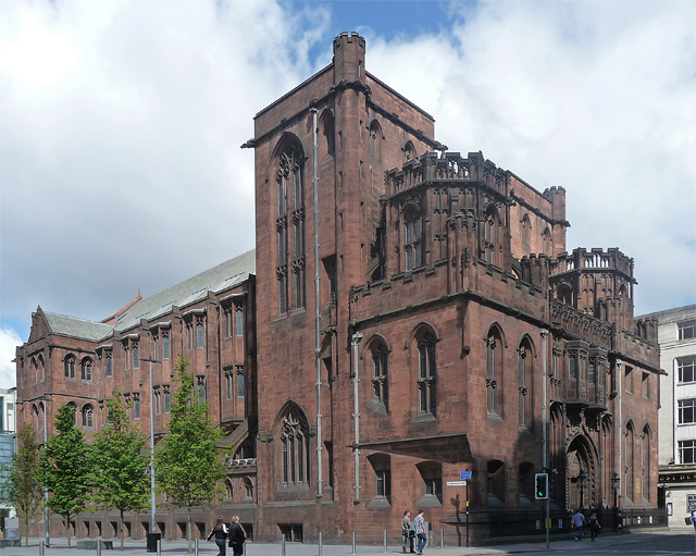John Rylands Library, Manchester, Deansgate